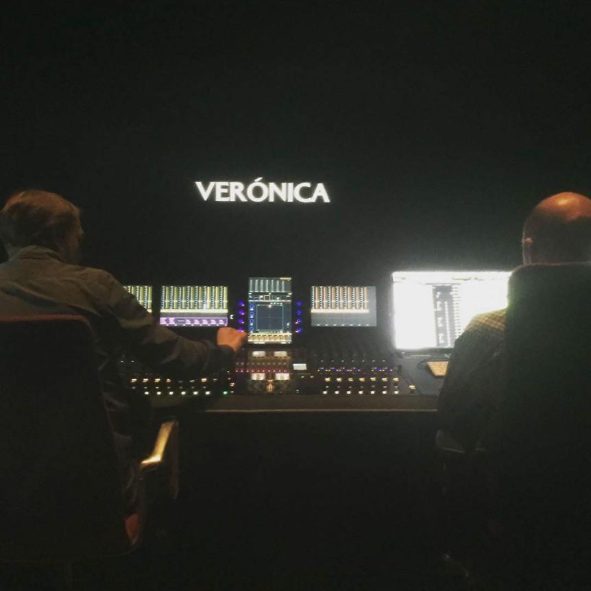 """""""Finalisation des mélanges, Verónica arrive."""" [Traduction en français par Rapologique] - Paco Plaza, le 3 mai 2017"""