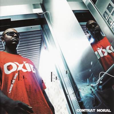 Couverture de l'album Contrat Moral du rappeur Oxid