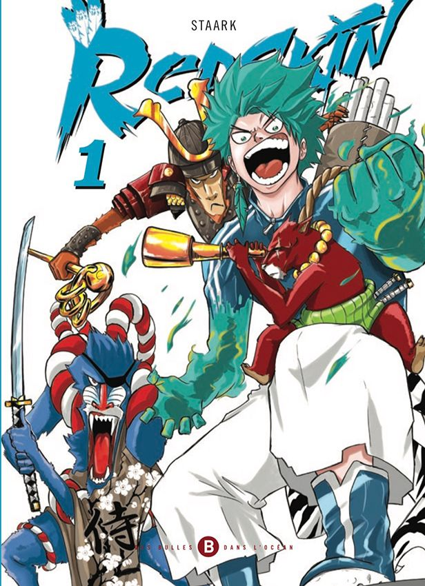 Couverture du manga Redskin-01