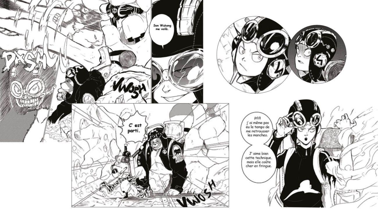 Planche du manga Redskin réalisée par le mangaka Staark-05
