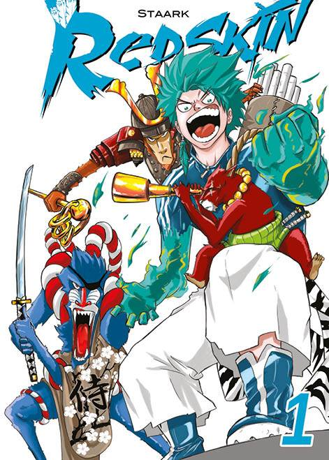 La couverture du manga Redskin